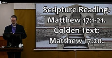 Lesson For Sabbath, March 20, 2021 PARABLE OF THE MUSTARD SEED