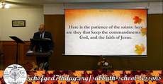 Lesson For Sabbath, November 28, 2020 THE THIRD ANGEL'S MESSAGE