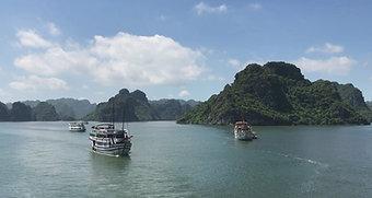 Croisère Baie d'Halong