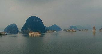 Croisière matinale à Ha Long