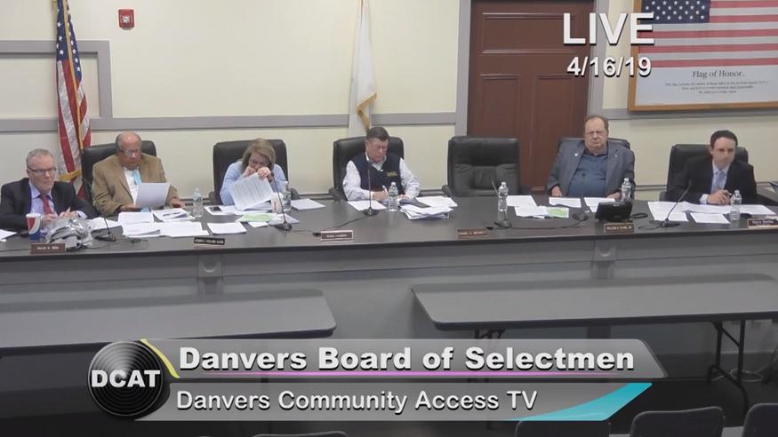 Danvers Government Meetings