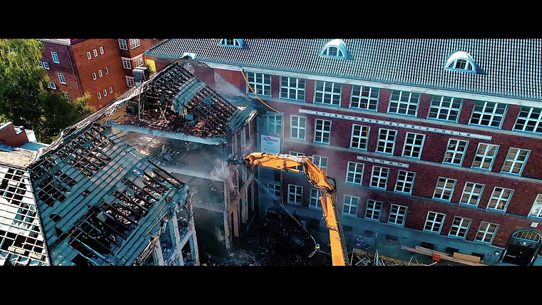Germaniastraße Abbruch