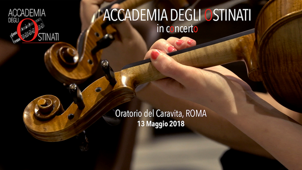 Accademia Degli Ostinati   Oratorio del Caravita Concerto 13 Maggio 2018