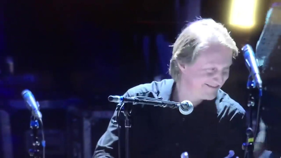 PBS Soundstage-AXS TV broadcast - Wildfire closing piano solo, Christopher J Wills