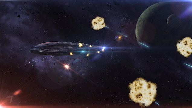 """Escape Shuttle"" scene from Dark Matter Diaries - Ep 02"