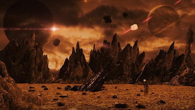 """Planet Trajon"" scene from Dark Matter Diaries - Ep 02"