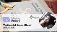 Selenium United Testimonial from Soumi Ghosh of Ensim India