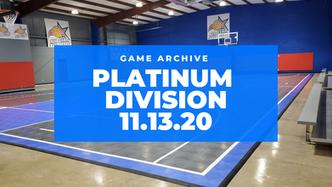Plantinum Division 11/13/2020