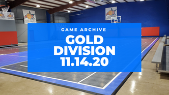 Gold Division Game 11/14/2020