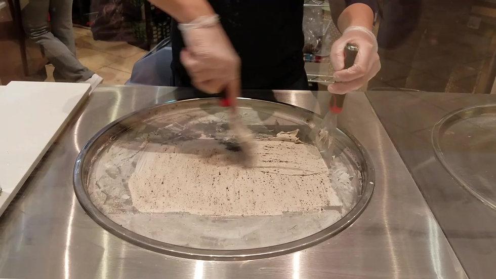 Making of Cookies n' Cream