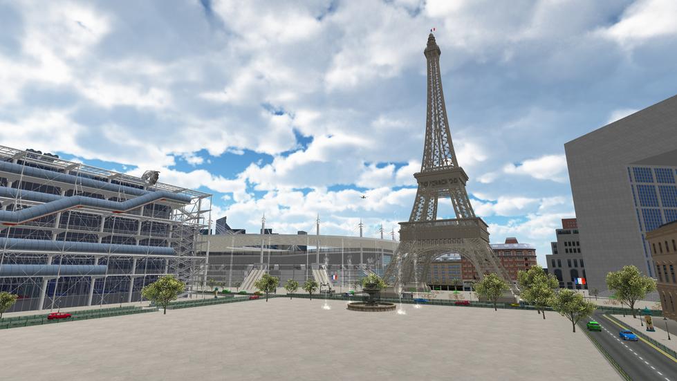 Football Environment - Paris