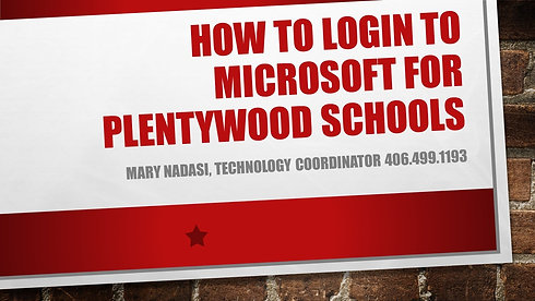 How to Log Into Microsoft