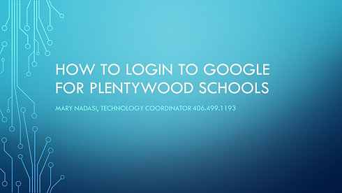 How to Log Into Google
