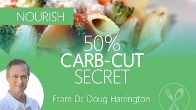QUICK FOOD TRICK: 50% Pasta Carb Cut
