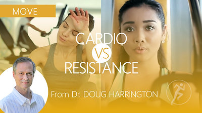 Cardio VS Resistance? Which provides the longest burn time?