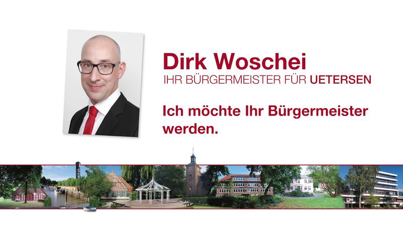Dirk Woschei möchte Ihr Bürgermeister werden