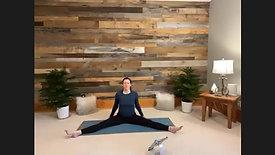 Yin Yoga Ground, Open, Expand
