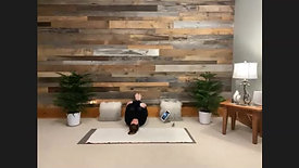 Yin Yoga Legs Up the Wall