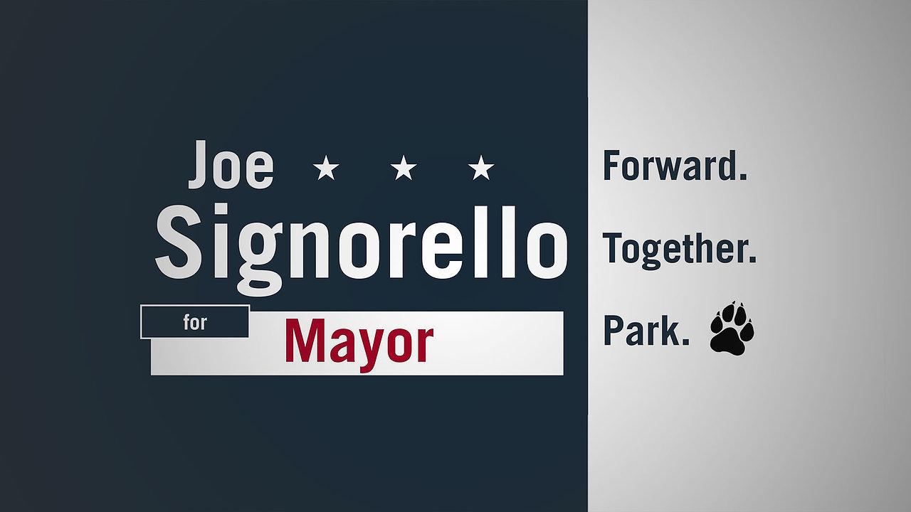 Joe Signorello for Mayor