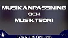 Musikanpassning och musikteori