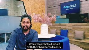 Mr. Mustaalah had a total debt of $65k