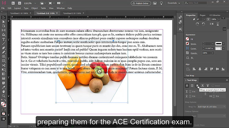 InDesign Course - Preview Video