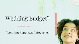 Wedding Expenses-Categories