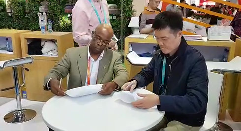 MOU Signing with Shangtex