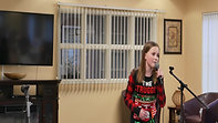 """""""All I Want for Christmas Is You"""" Performed by ISC Member Jenna - Canterbury Village, Winter 2019"""