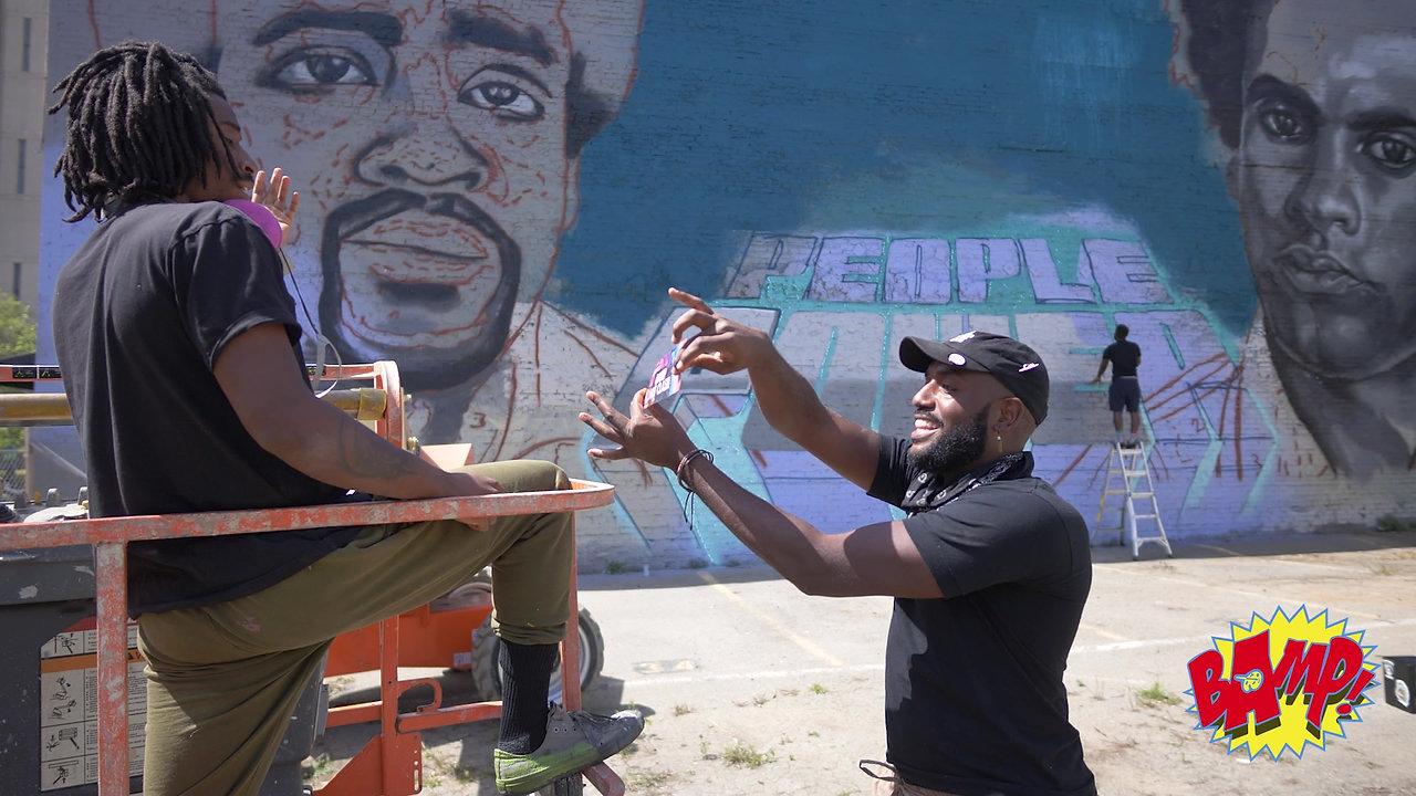 Bay Area Mural Program event promo