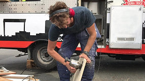 Trucken får kärlek och ett värmeskåp