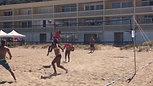 Beach volleyball skills