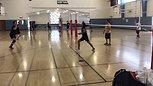 Volleyball skill clip