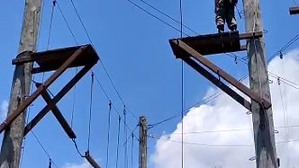 高空繩網挑戰