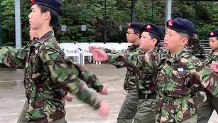 D中隊 步操訓練