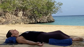 Restorative Yoga on the Beach