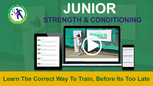 Junior strength and conditioning program