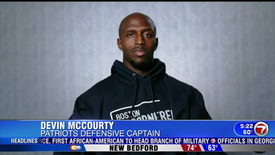 Devin McCourty Honored - June 10, 2020