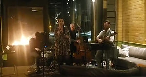 Debbie Briggs Vintage Jazz Live From there Clubhouse