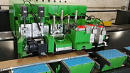 Custom Laminate Trimming and Buffing Machine