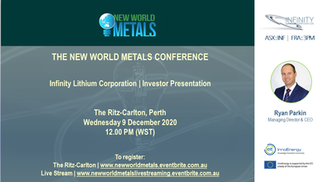 New World Metals Conference