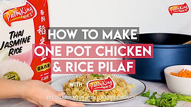 How to make One Pot Chicken & Rice Pilaf