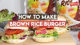 How to Make Brown Rice Burger with PaddyKing