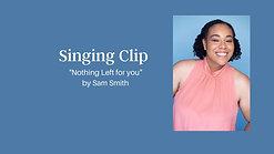 Singing Sample