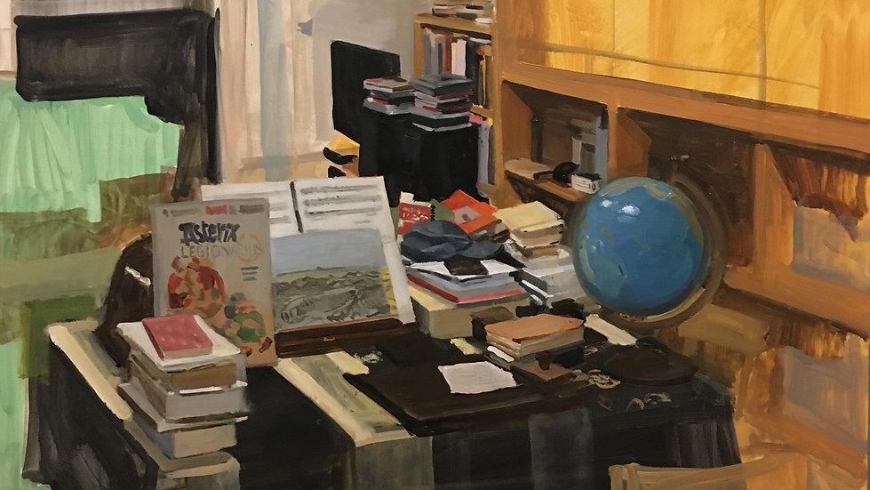 En el estudio de Ignacio Escobar