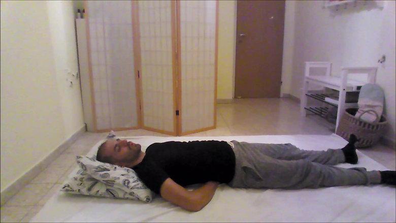 תרגילים לפני השינה
