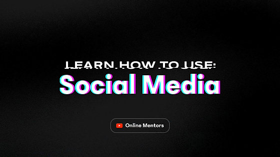 Learn How To Use Social Media: