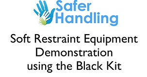 Soft Restraint Video - Black Kit