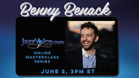 Benny Benack Masterclass