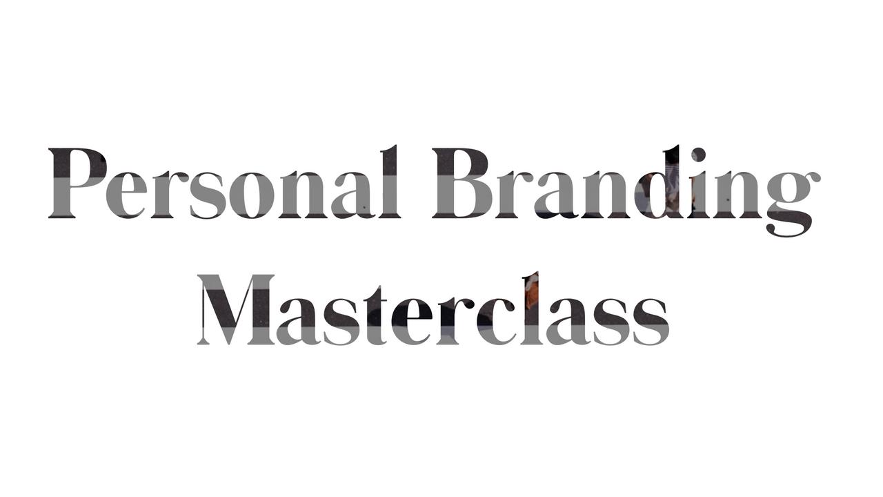 Personal Branding MasterClass